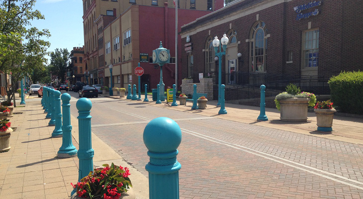 Carnegie Borough Streetscape - Featured Project - 730 x 400