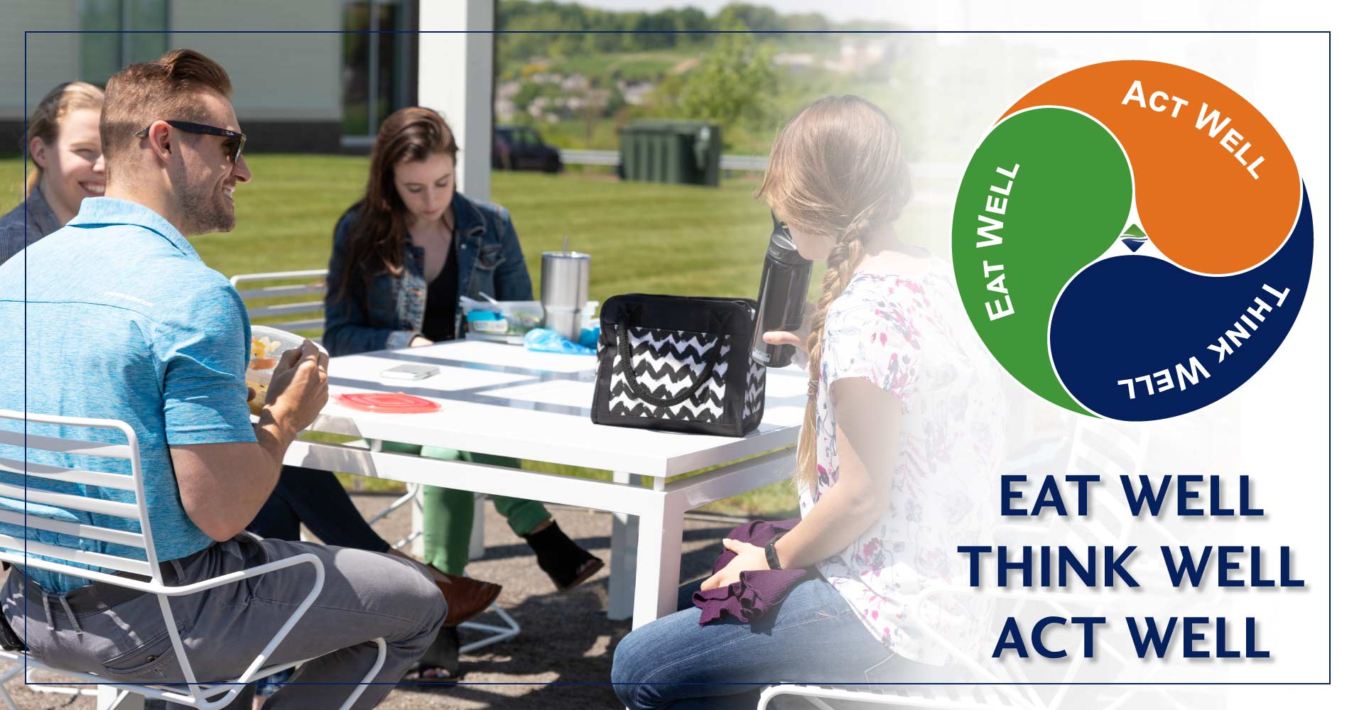 The Outdoor Garden Area at Gateway Engineers is the perfect spot for a healthy lunch or an outdoor meeting.